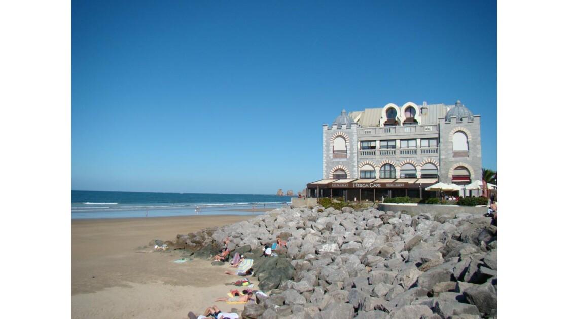 Hendaye : la plage