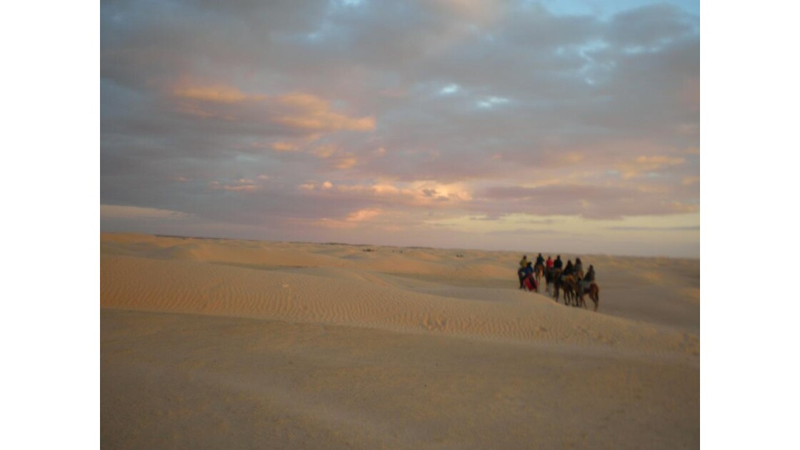 Passeggiata nel deserto