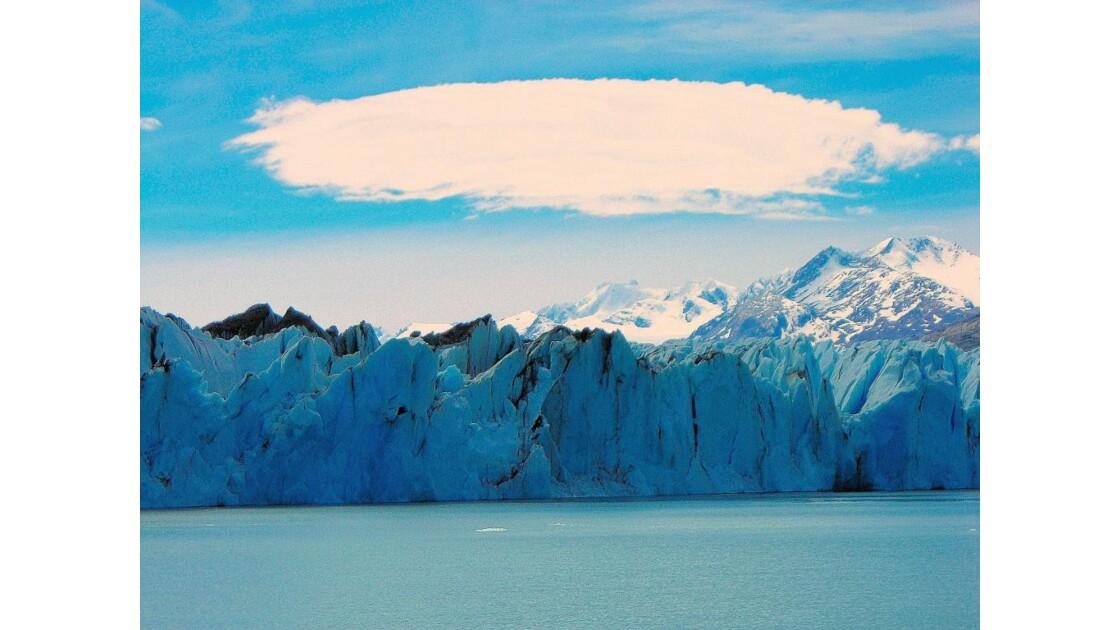 Le glacier Upsala