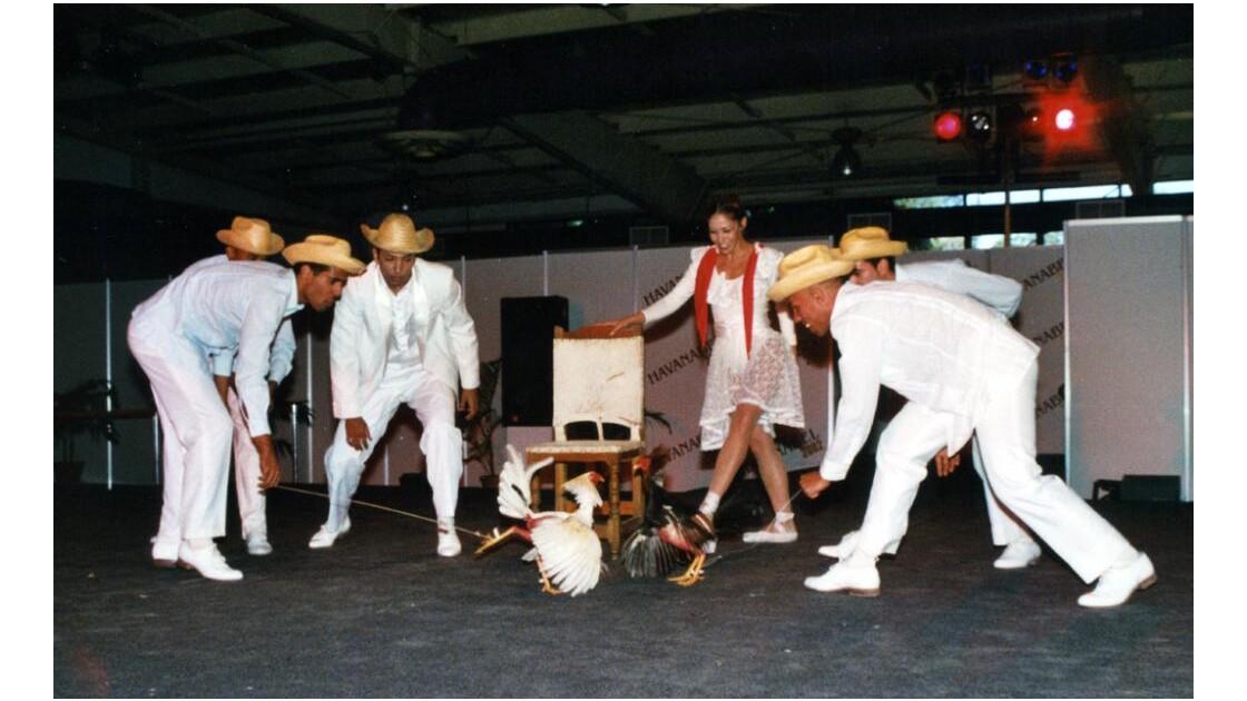 Ballet :figuration de combat de coq.