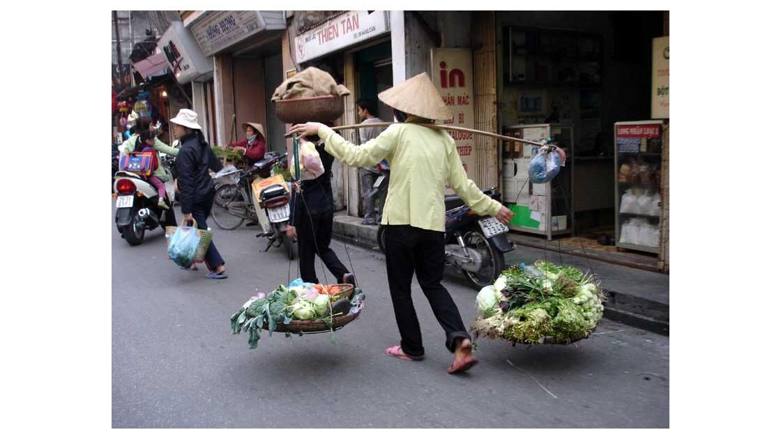 Hanoi, dans la rue