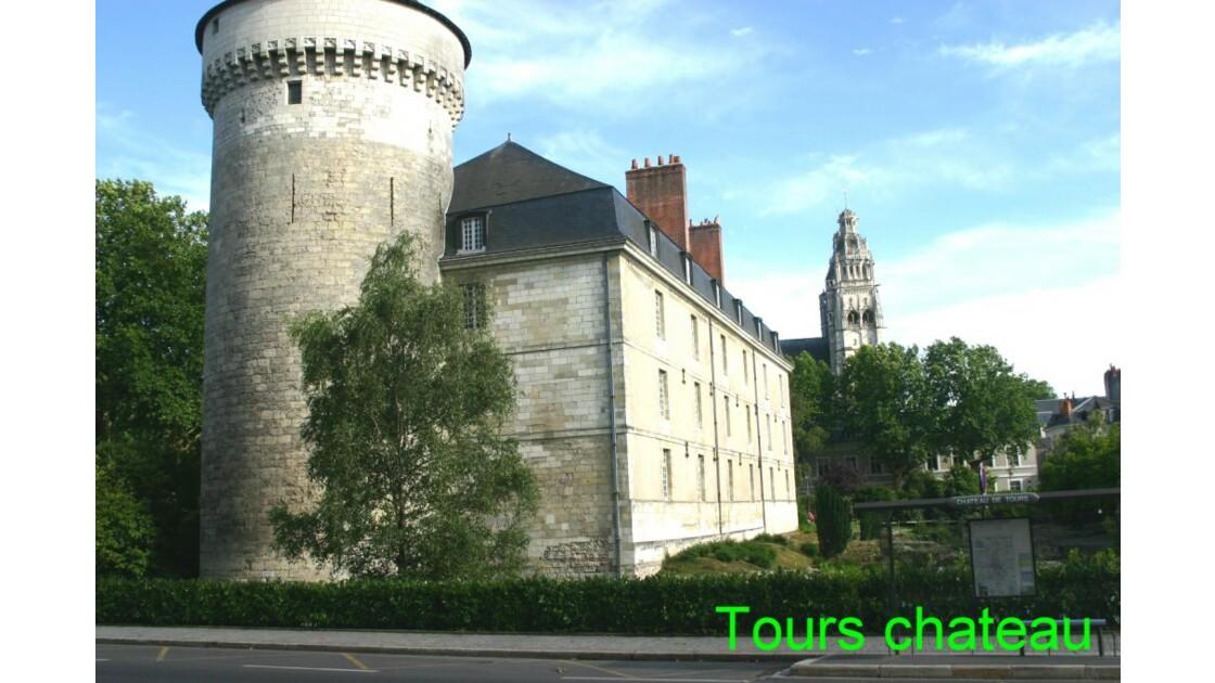 Tours: le chateau
