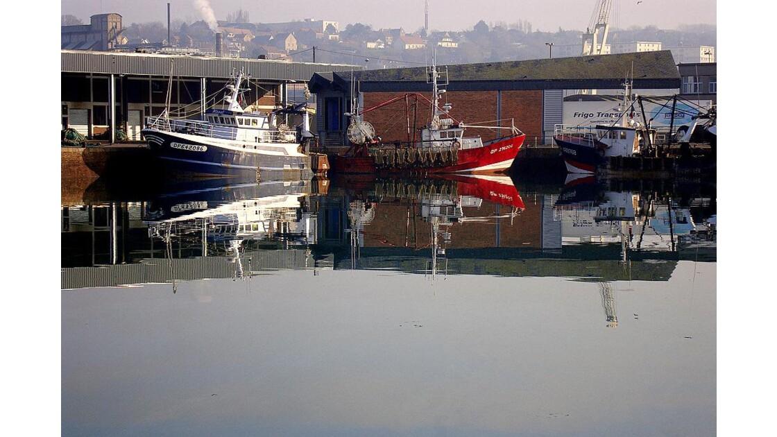 Dieppe : le coin du port ...