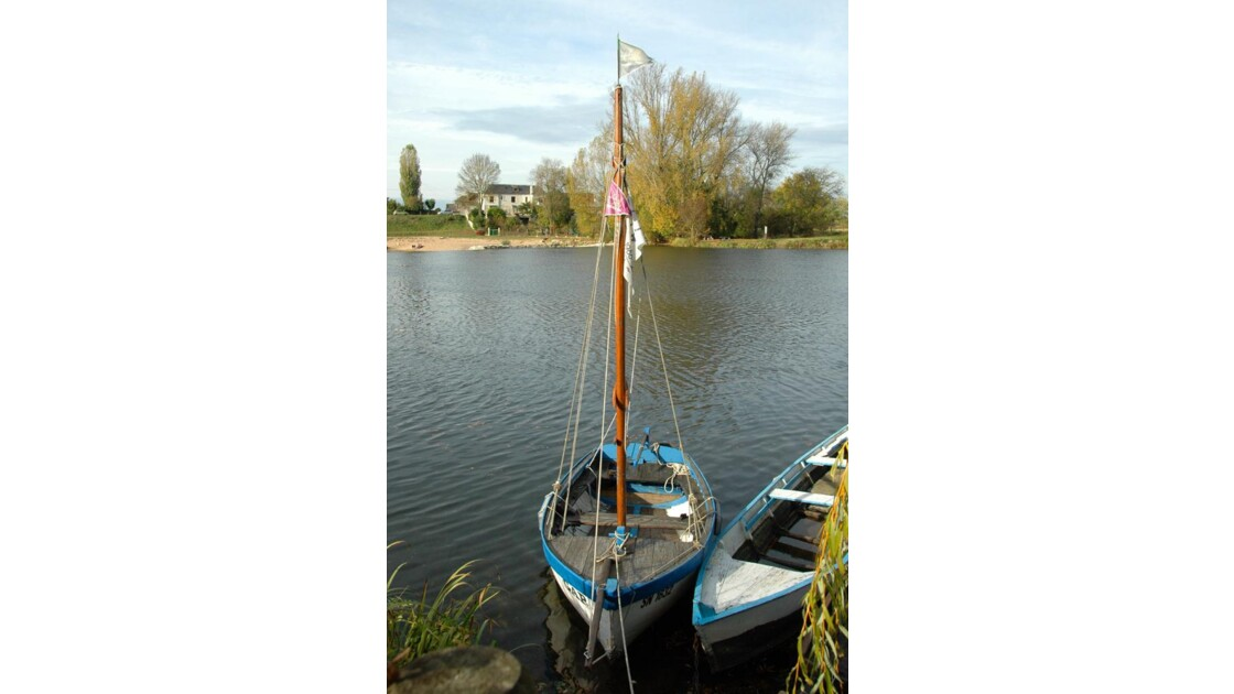 Barques sur le Cher.