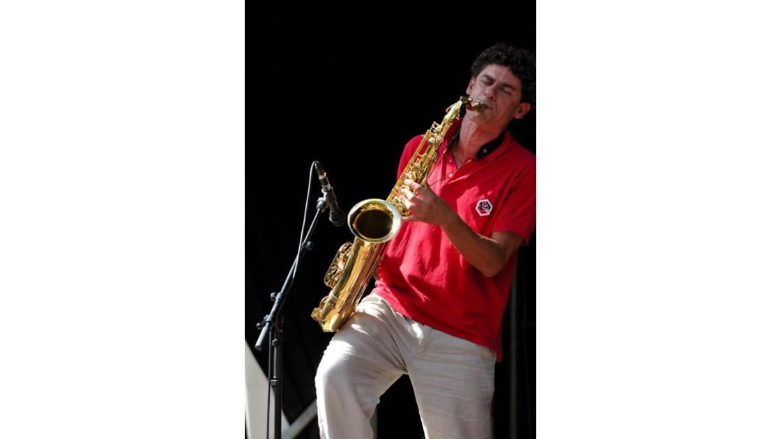 Arnaud Rouanet au saxophone