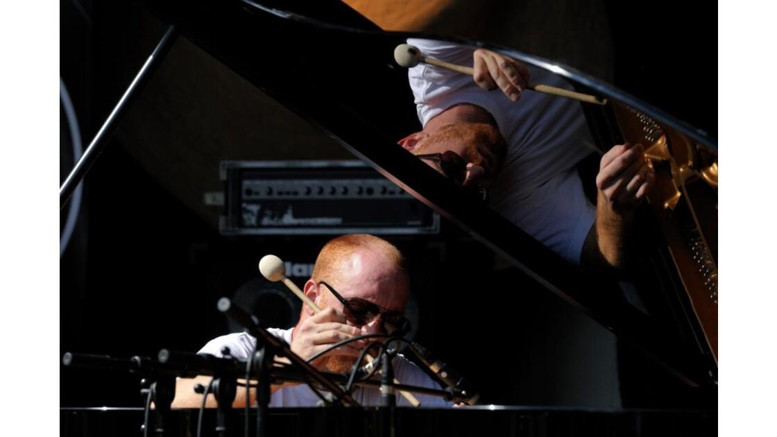 Samuel Bourille au piano