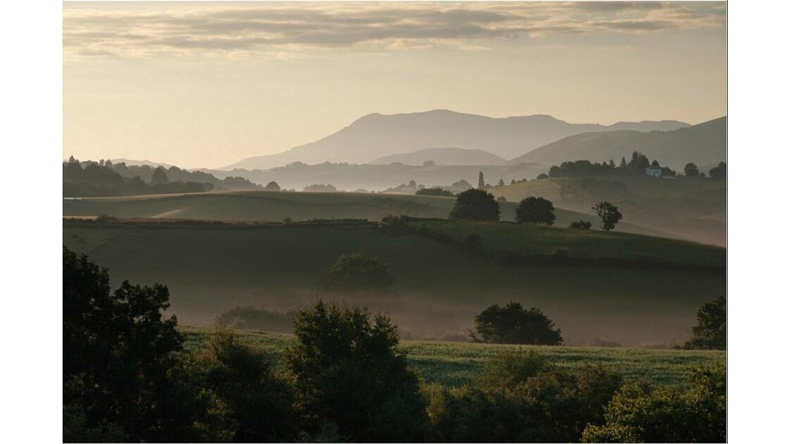 Lever de soleil Basque