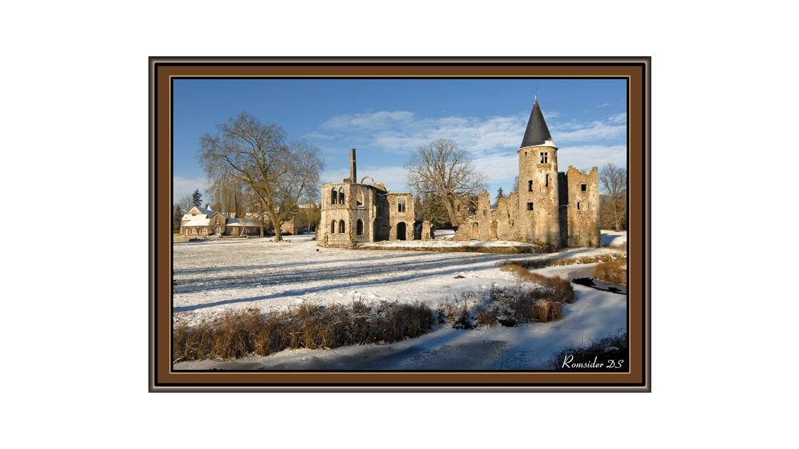 Château du Vivier sous la neige 3