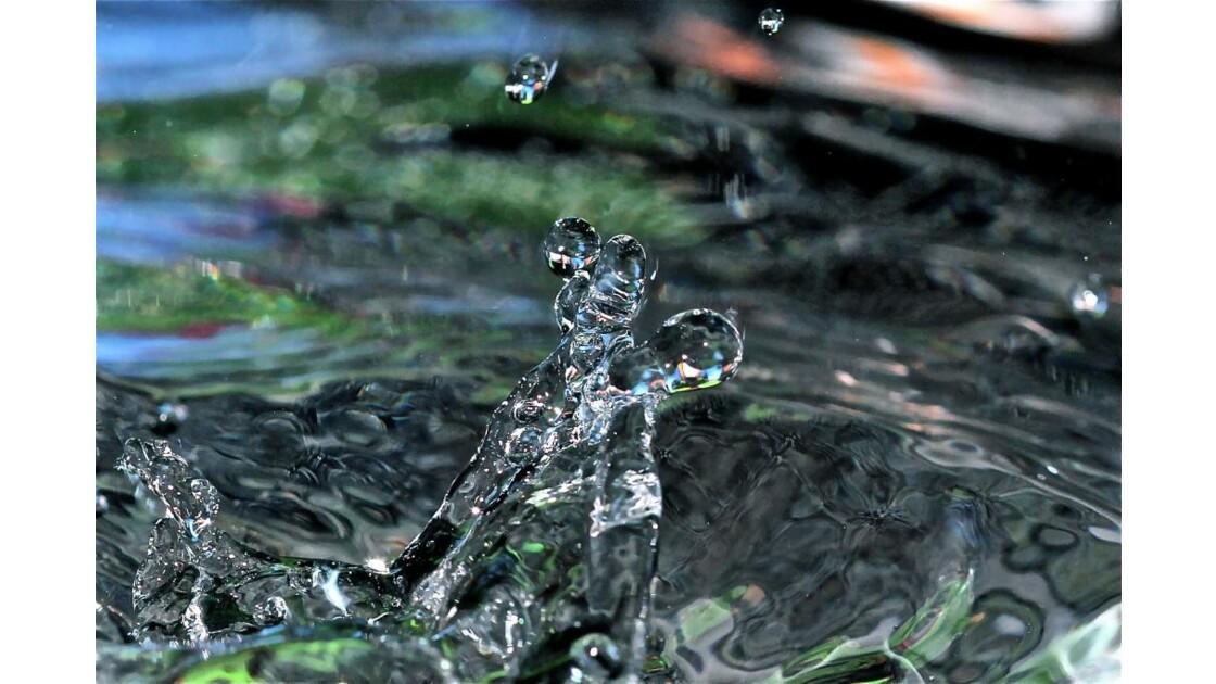 Sculpture aquatique