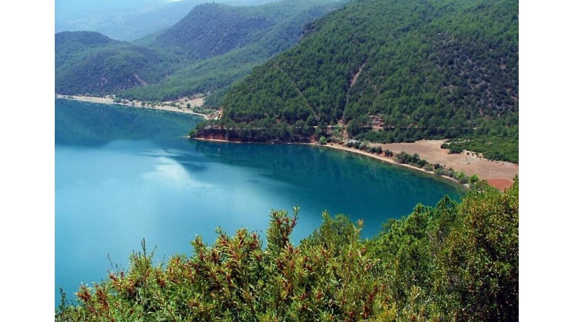 lac Lugu  ,Yunnan, Chine