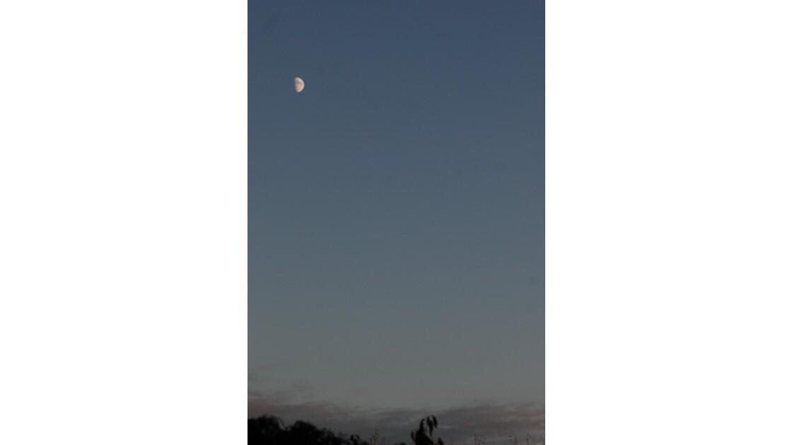 la lune veille encore un instant