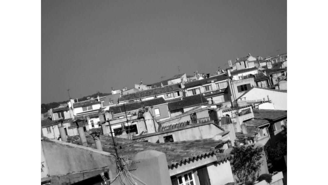 Vue sur les toits d'Aix 2