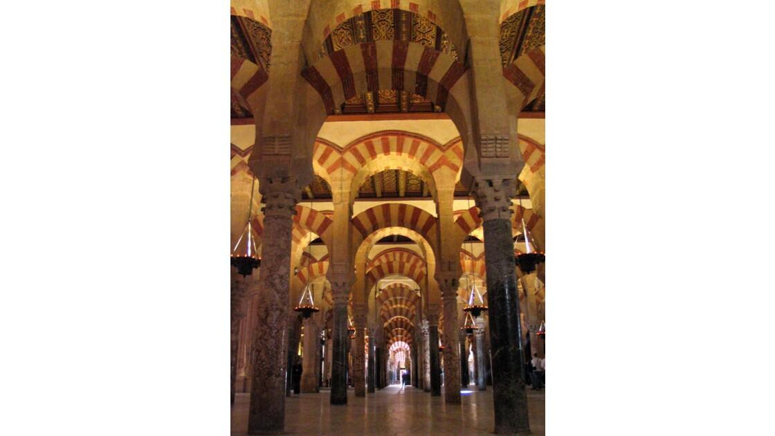 Mezquita et ses arcs