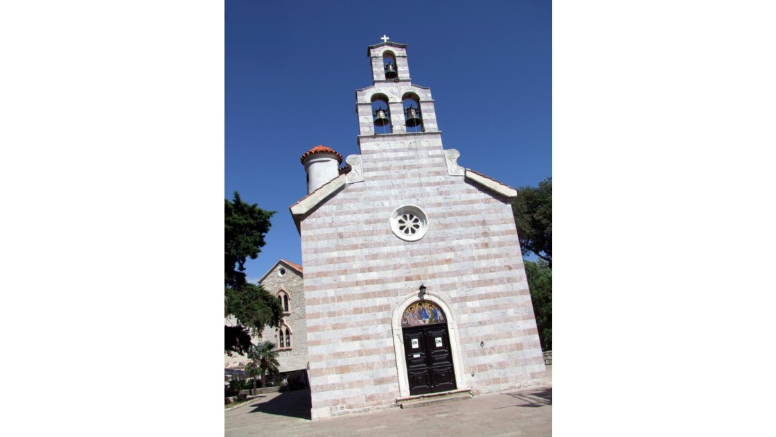Montenegro Budva Stari Grad Sv.Trojice