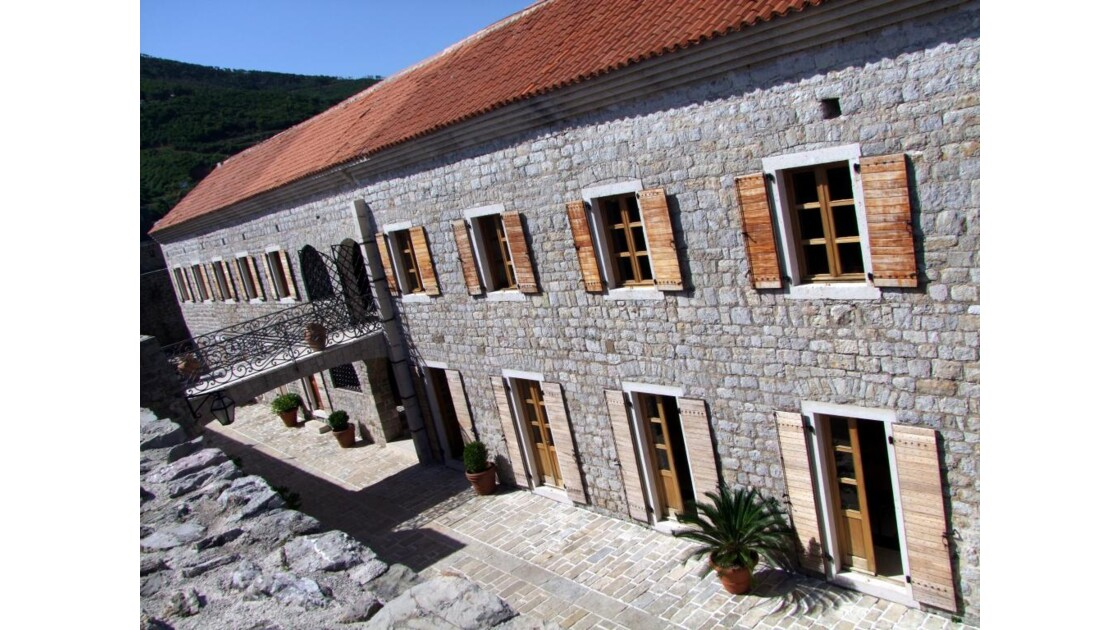 Montenegro Budva Stari Grad citadelle