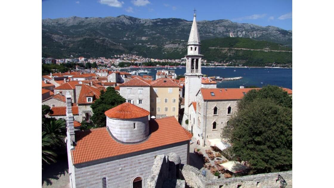 Montenegro Budva Stari Grad de citadell