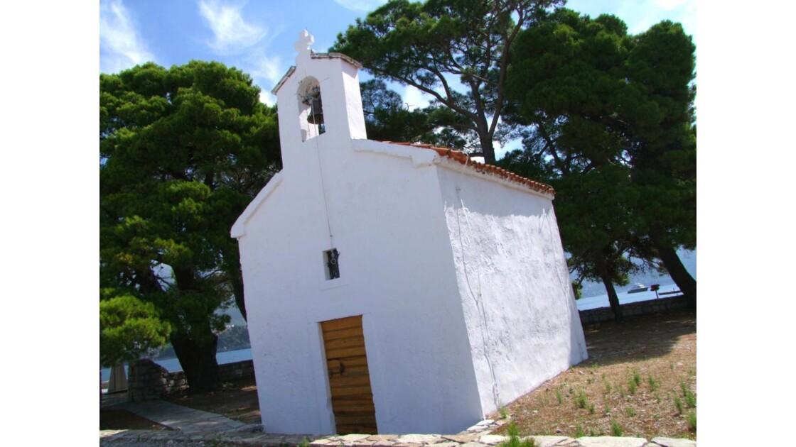 Montenegro Sveti Nikola chapelle