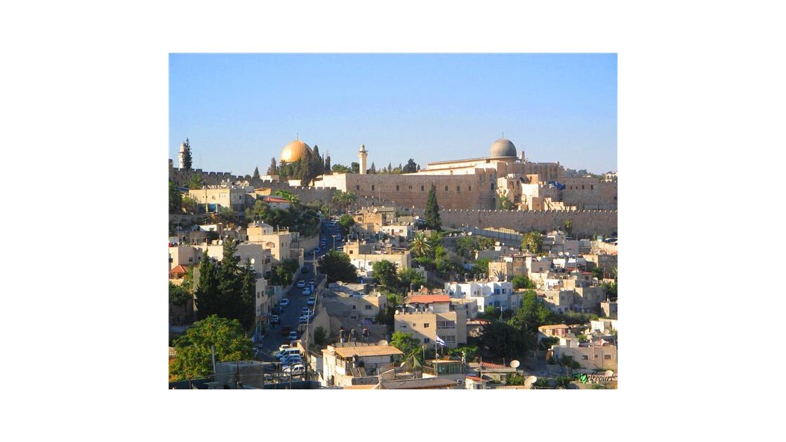 Jérusalem depuis St Pierre en Gallicante