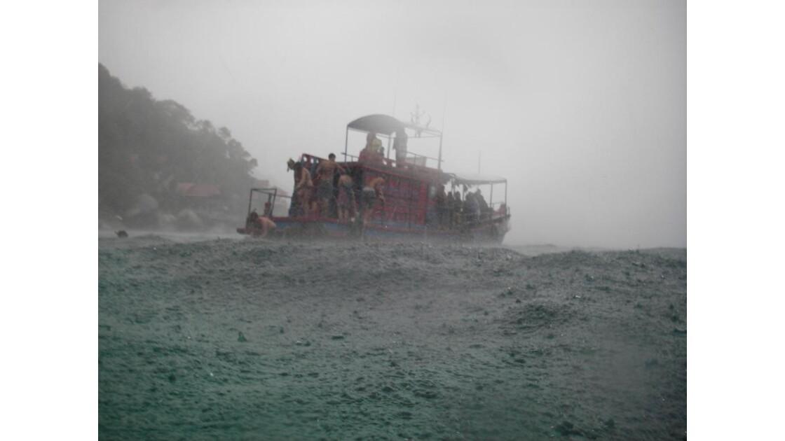 snorkling sous la mousson