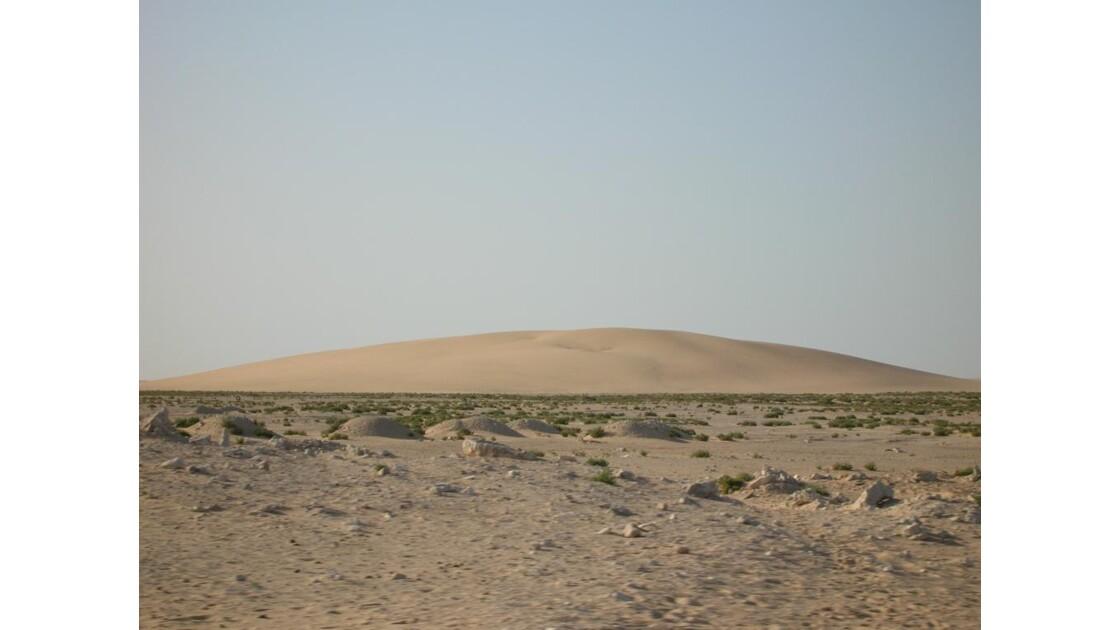 Première dune mauritanienne