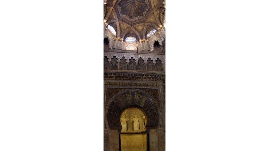 Le mihrab de la Mezquita de Cordoue