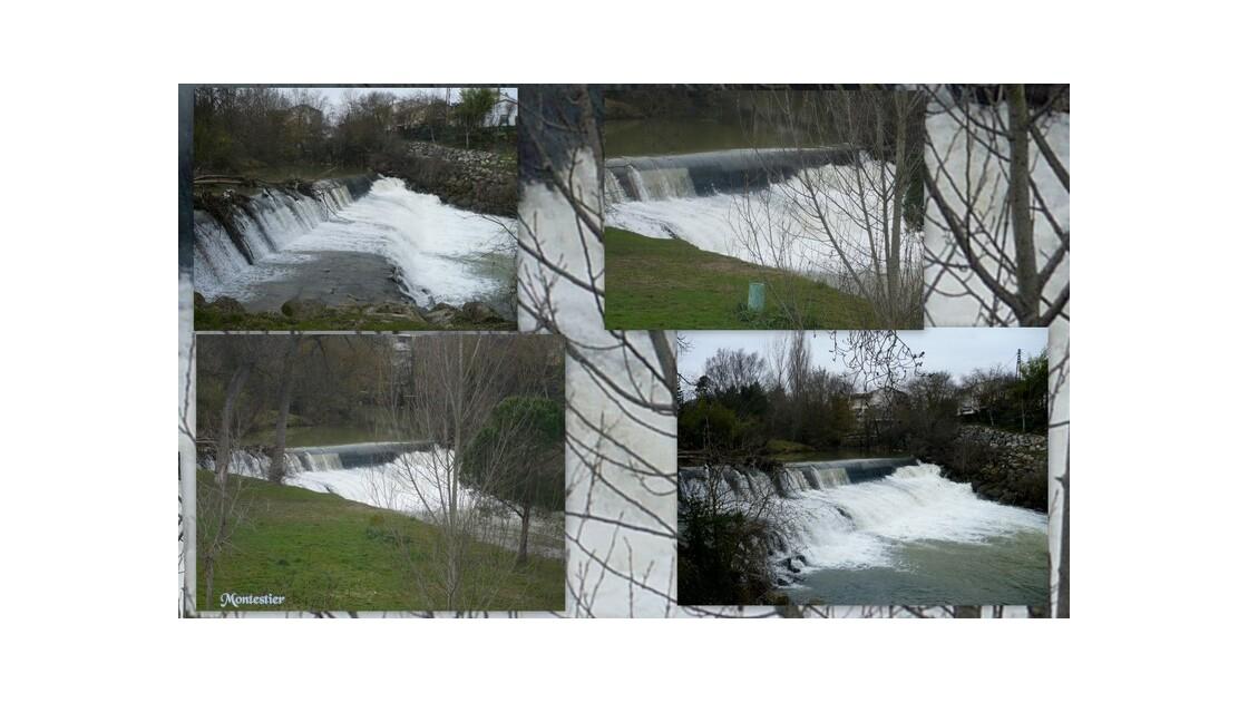 Muret le barrage du moulin!