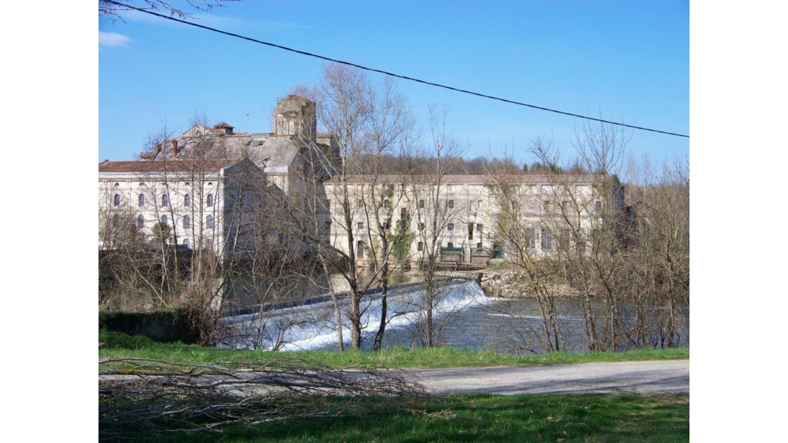 façade et barrage