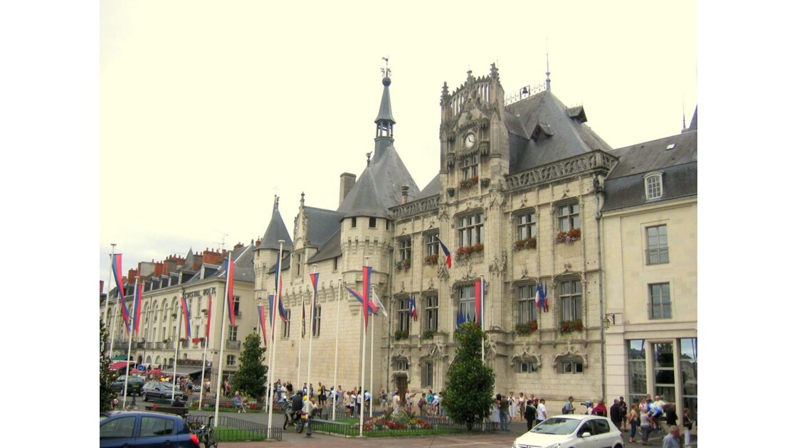 France Saumur Hotel de Ville