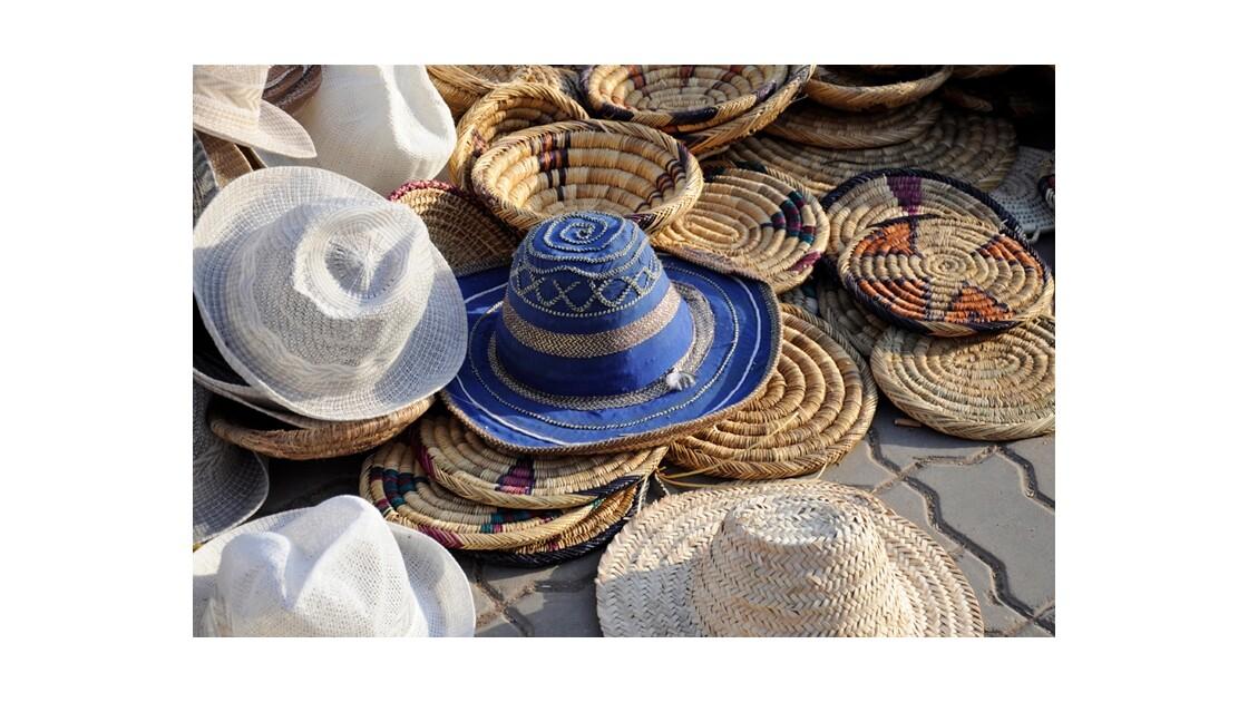 chapeaux paille et coton
