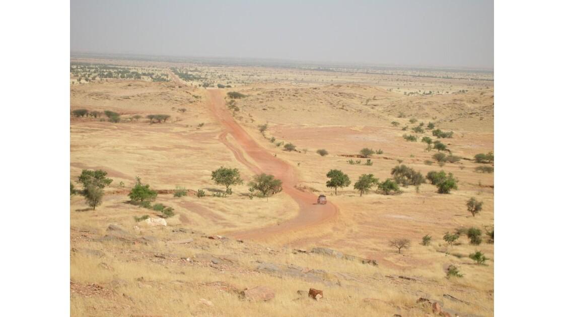 Vue en haut de la passe de Souffa