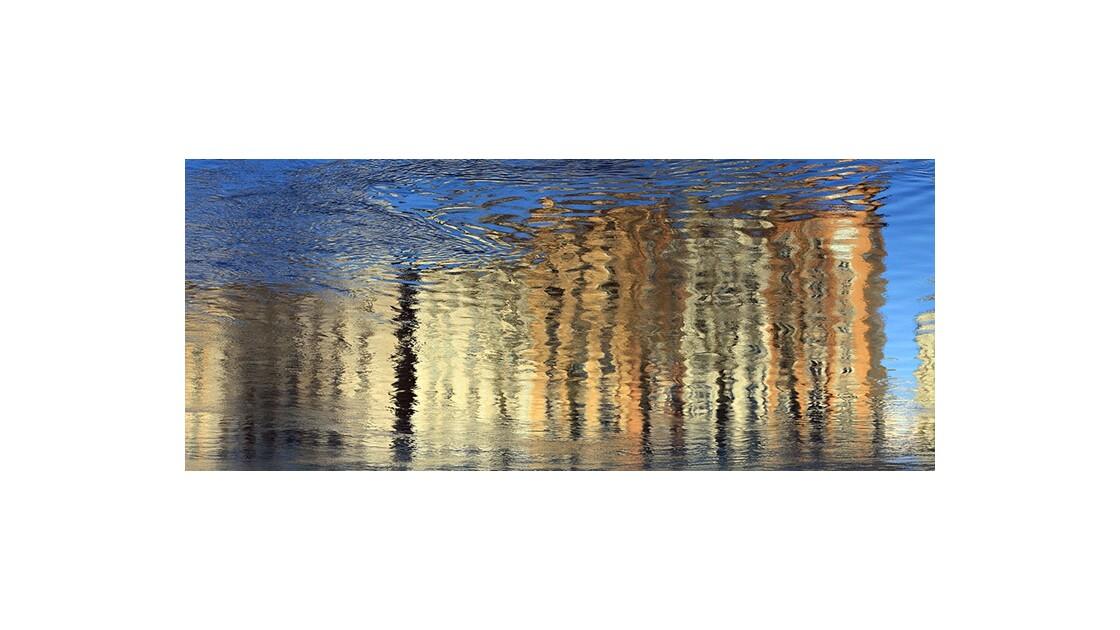 Reflets du quai Saint-Vincent