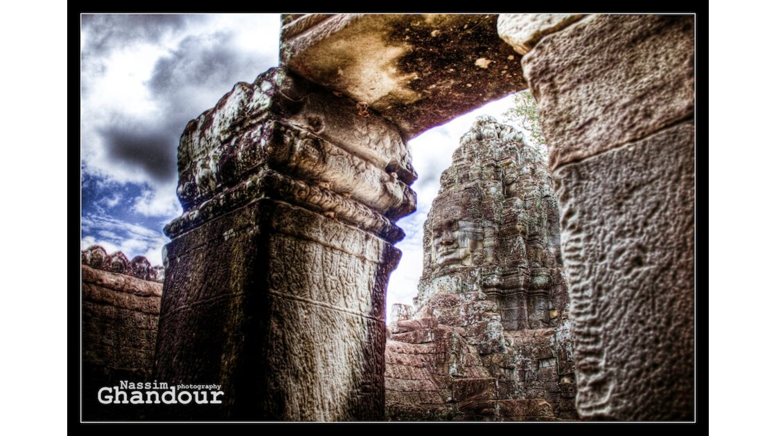 Under the Angkor temple