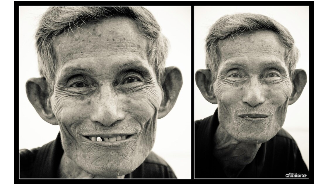 The old cambodian who talked us french