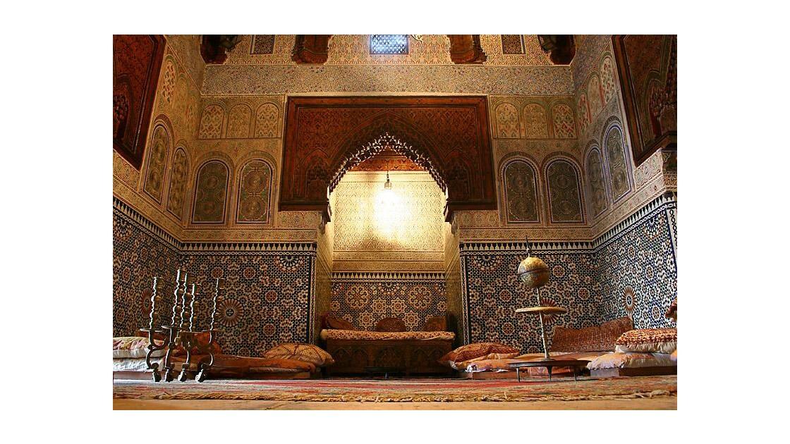 084_Meknès, musée Dar Jamaï, salon.jpg