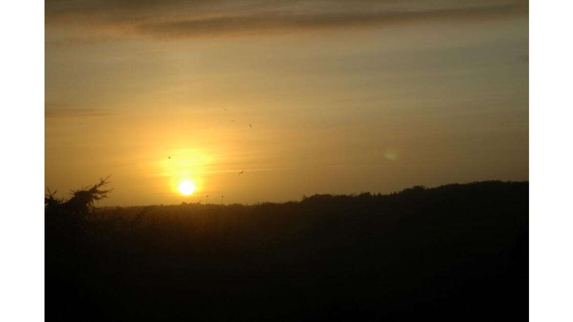 Coucher de soleil à Douarnenez 3
