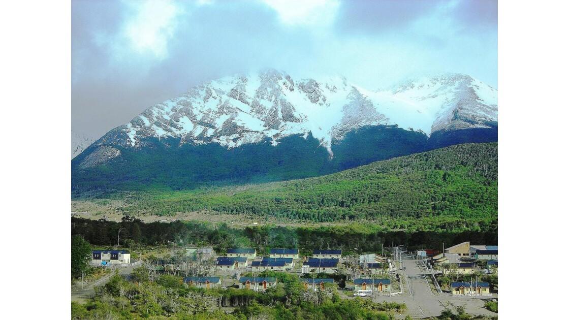 La ville d'Ushuaia