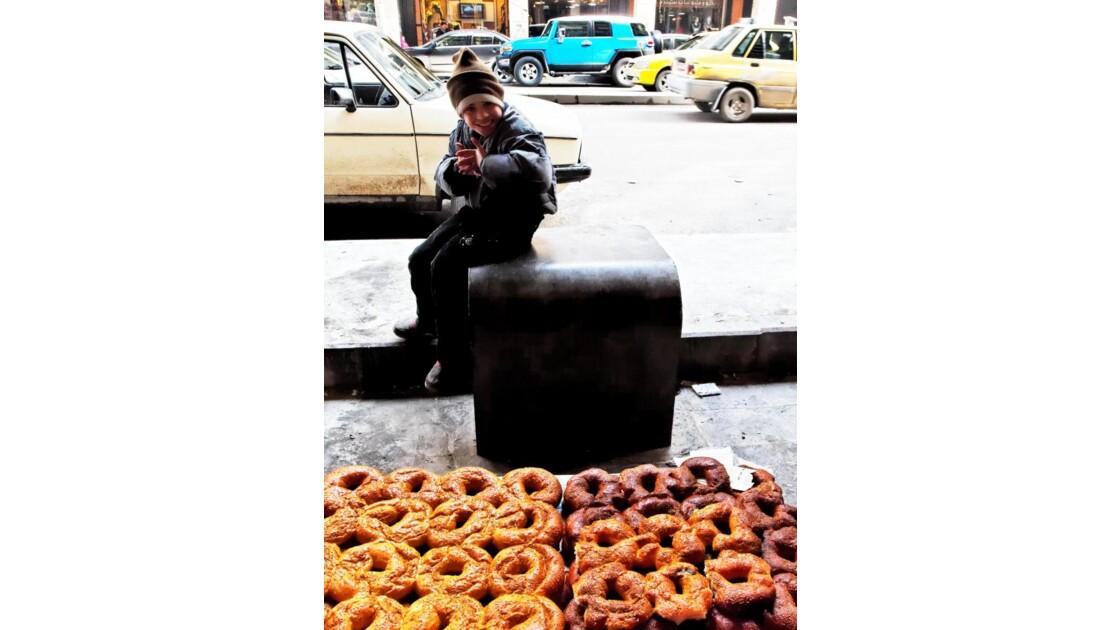 Le petit vendeur de pâtisseries
