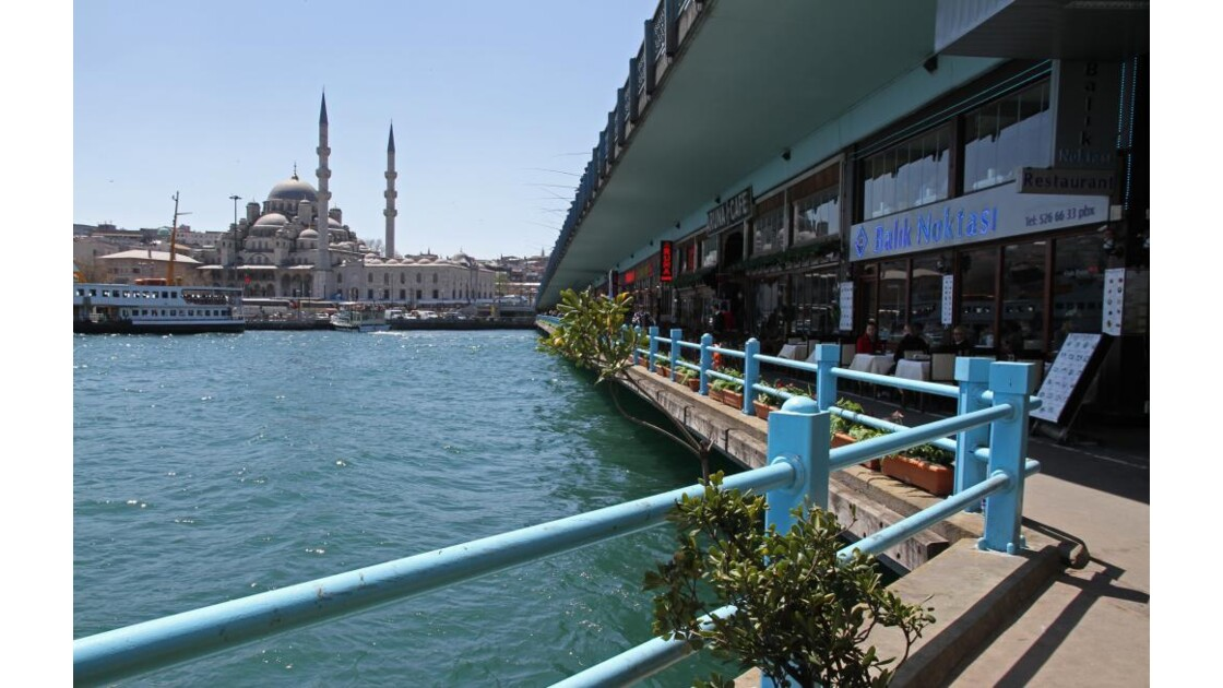 Mosquée et Bosphore