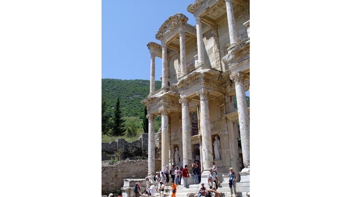 Ephèse (9) la bibliothèque
