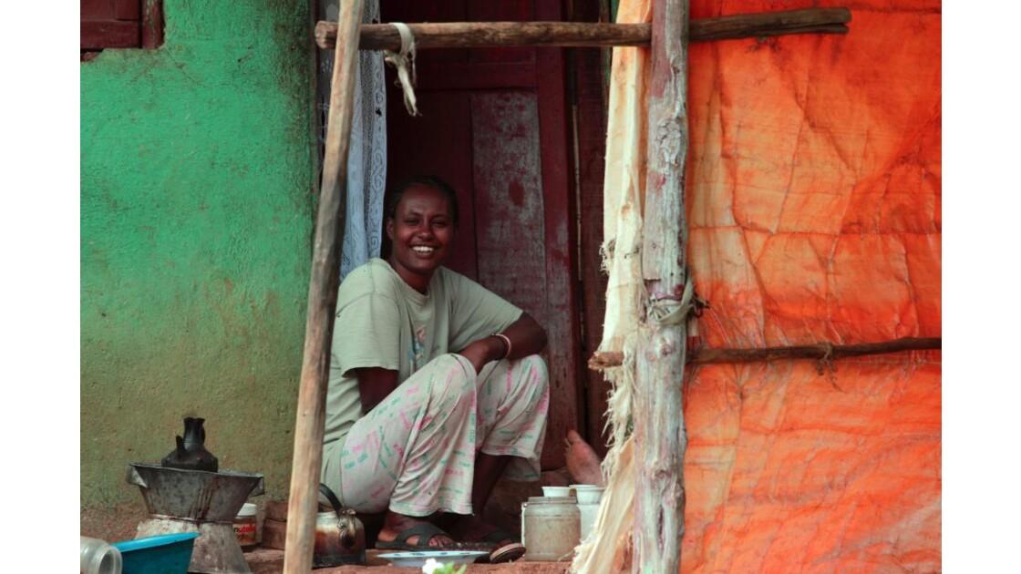 Jeune fille à Butajira