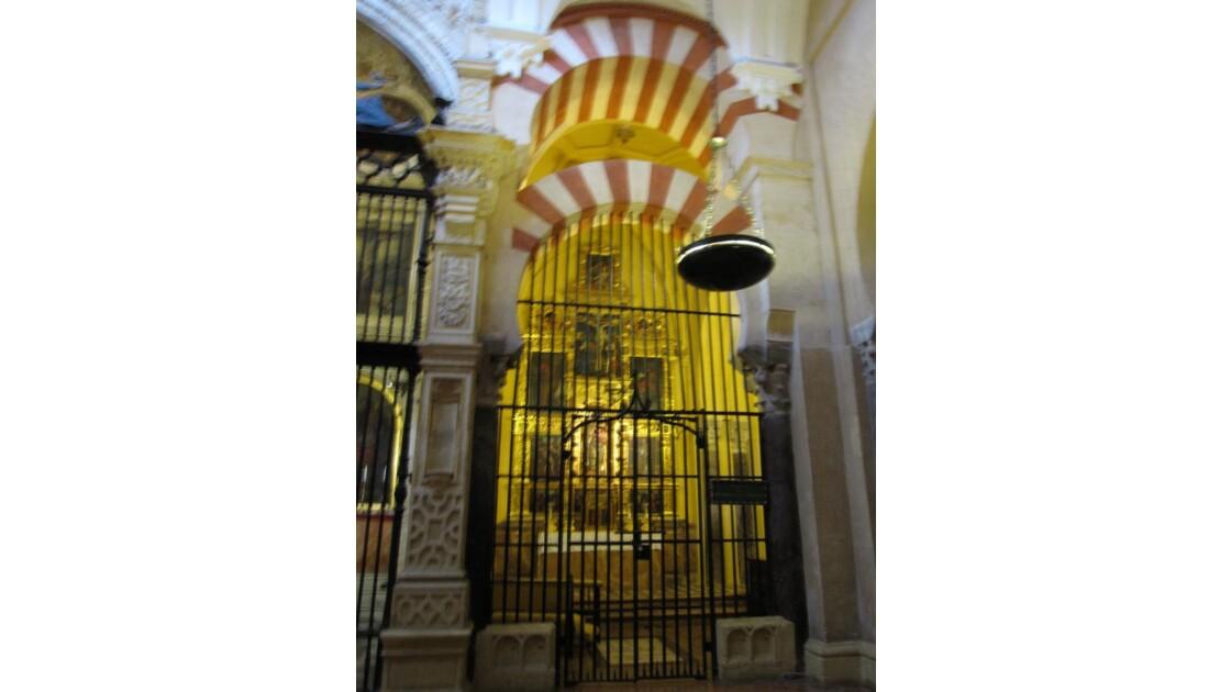 Mezquita et chapelle