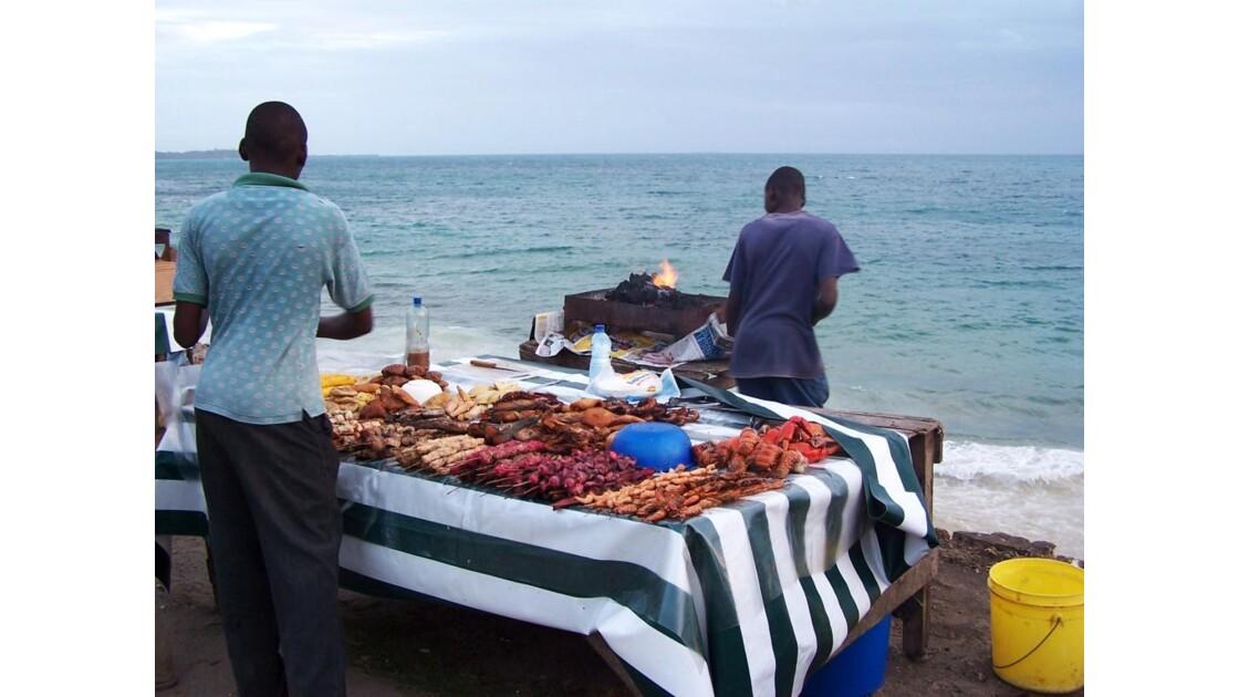 restauration au bord de mer