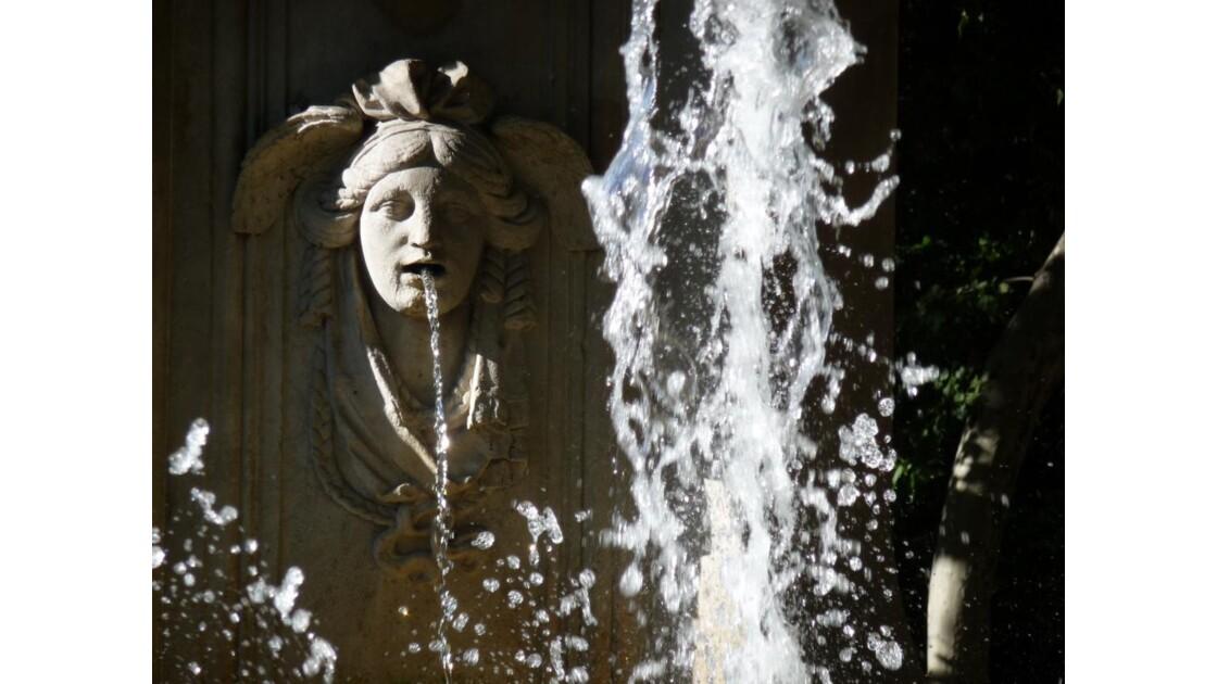 Fontaine à Madrid