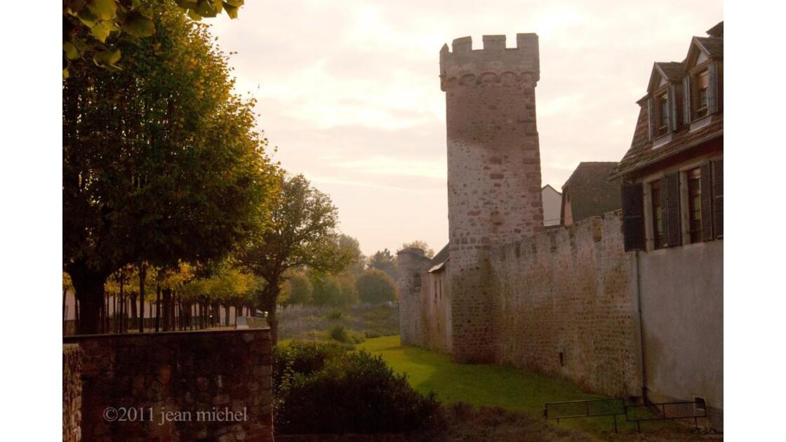 les remparts d'Obernai