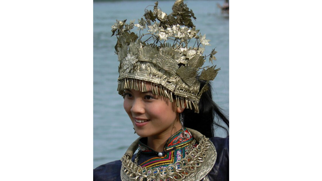 Jeune fille - Guilin - Chine