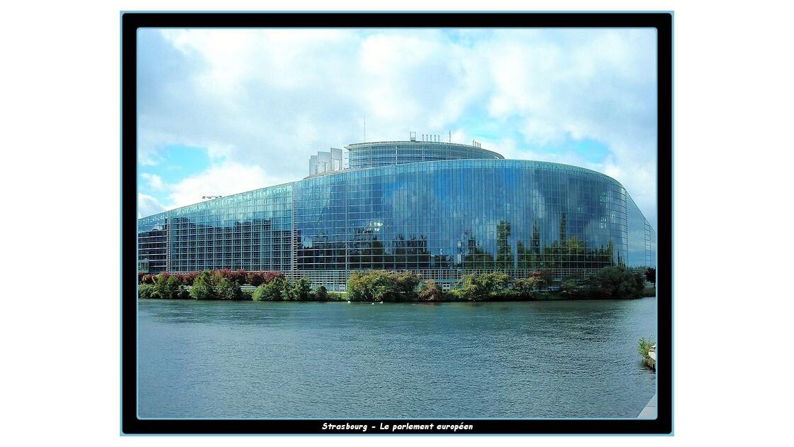 Reflets dans le parlement européen