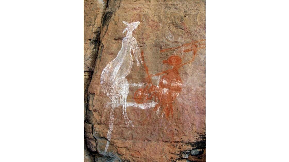 Australie_peinture aborigène