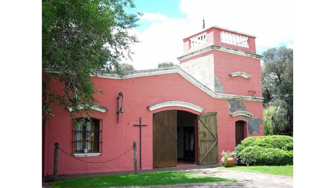 La chapelle de l'estancia