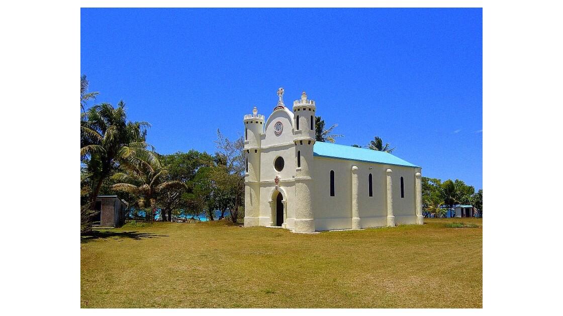 Lifou...L'église