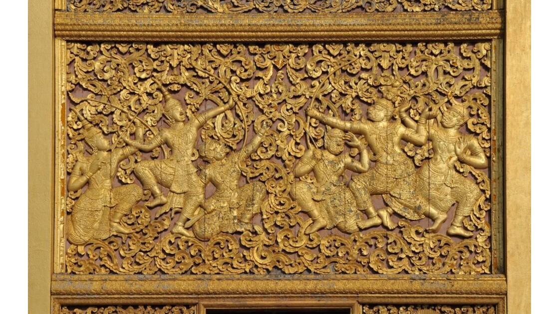 Wat Xieng Thong, bas-relief